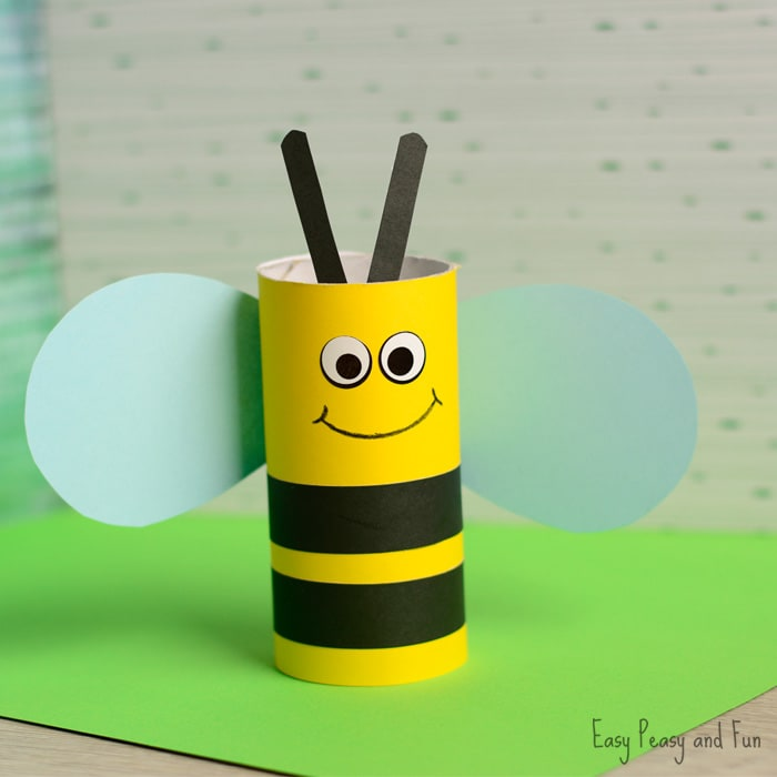 Cute-Toilet-Paper-Roll-Bee-Craft (1)